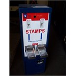 STAMP VENDING MACHINE U.S. POSTAGE Item is in used condition. Evidence of wear and commercial