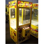 """30"""""""" TOY CHEST PLUSH CLAW CRANE MACHINE SMART Item is in used condition. Evidence of wear and"""