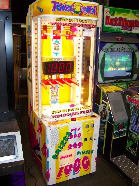 Lot 55 - TIME BUSTERS PRIZE REDEMPTION GAME LAI GAMES Item is in used condition. Evidence of wear and