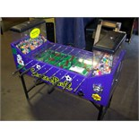 SOCCER BALL FOOSBALL BULK VENDING MACHINE OK MFG. Item is in used condition. Evidence of wear and