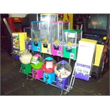 NORTHWESTERN SENTINEL MULTI COLOR BULK RACK Item is in used condition. Evidence of wear and
