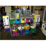 NORTHWESTERN MULTI COLOR BULK CANDY RACK Item is in used condition. Evidence of wear and