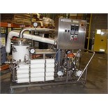 DSI UHT Skid, Model DSI/Flash, Direct Steam Injection and Vacuum Cooling, Skid Mounted with Pressure