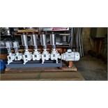 2008 NEW Lewa Diaphram Metering Pump, Model LDD4/LD2-HYG, 4 STAGES @ 429.92 L/HR-1 STAGE @ 112.7\