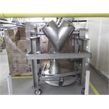 Patterson Kelly V Blender, S/N C441079, 2-Cu. Ft, 85 Lbs/Cu. Ft,All S/S Mounted on Portable Skid,