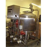 2006 Tetra Alsafe Aseptic Skid Mounted Portable Holding Tank, Model Alsafe Lab T5844616103, S/N