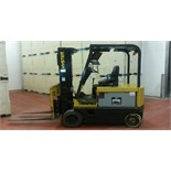 Hyster 5,000 LB Forklift, Model E50XL33, S/N C108V07186J, 3-Stage Mast, 36-Volt (Located in Wisc