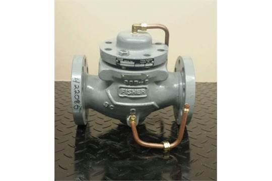 4) Fisher Pressure Regulators Type 95H 1 3/4