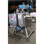 DCI 100 Gallon Dome-Top / Cone-Bottom Procesor, S/N 93-F-46097, Skid Mounted with Chart Recorder and