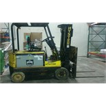 Hyster 5,000 LB Forklift, Model E50XL33, S/N C108V07187J, 3-Stage Mast, 36-Volt (Located in Wis