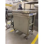 "Advance Lifts Hydraulic Lift Table, Model P-2524M, All S/S, 2,500 LB Cap, 24"" x 36"" Platform, 1-1/"