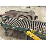 """Hytrol Powered Roller Conveyor 3 Sections in Total Section Dimensions: 24"""" W x 94"""" L All Mild"""