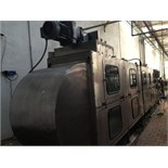 Simplimatic Bottle Rinser, 28' Long (Located in San Diego)***DOSA***
