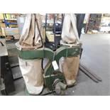 CANTEK DOUBLE BAG DUST COLLECTOR, 3HP, 230/460V