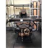 """Hitachi Seiki Horizontal Mill, Type 2ML-P, 12"""" x 53"""" Table, 33 to 2,000 RPM, S/N N-6652"""