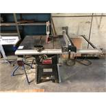 """Dayton 10"""" Contractor Table Saw, Model 4KXD1"""