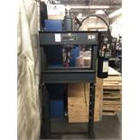 "Dake 25 Ton H-Frame Hydraulic Press, Model Dura Press Force 25DA, 28"" Width Between Uprights, S/N"