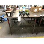 Metal Table (4' x 4' x 3' High)