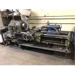 """20.5"""" x 48"""" Monarch Lathe, Model 18C, 16 to 650 RPM, 1-1/2"""" Hole Through Spindle, 10"""" 3-Jaw Chuck,"""