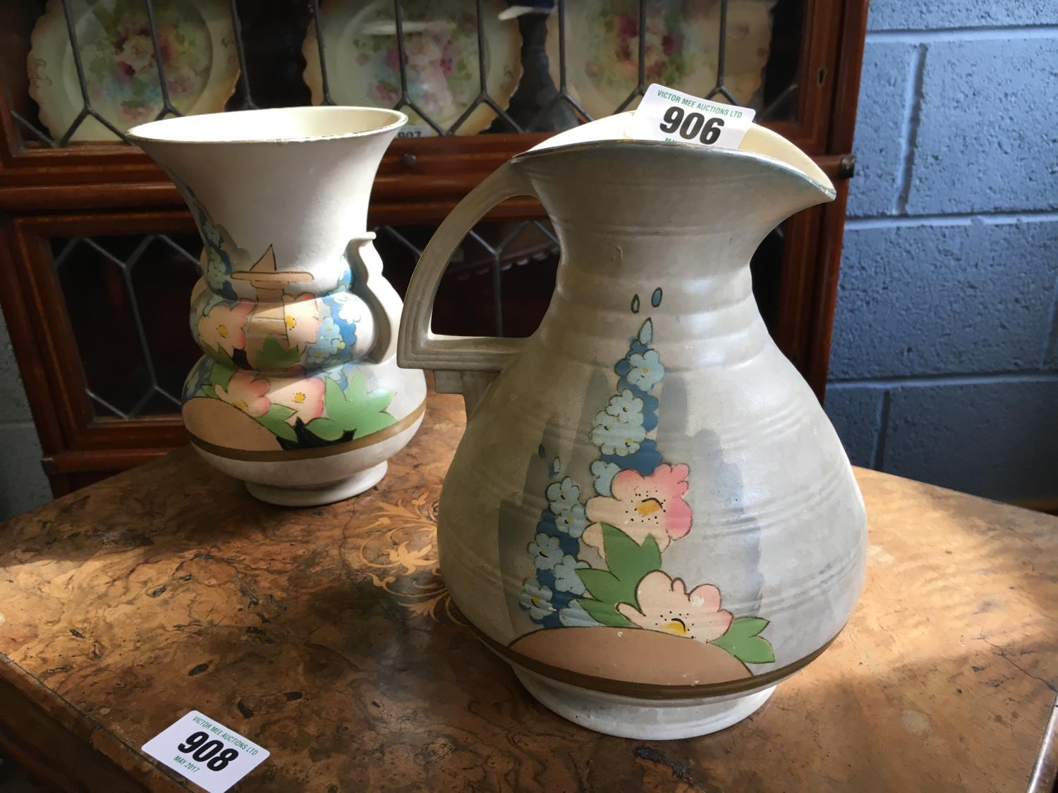 1930 39 S Decorative Jug And Vase