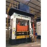ALINTECH 350 TON HYDRAULIC STAMPING PRESS; MODEL 350-H