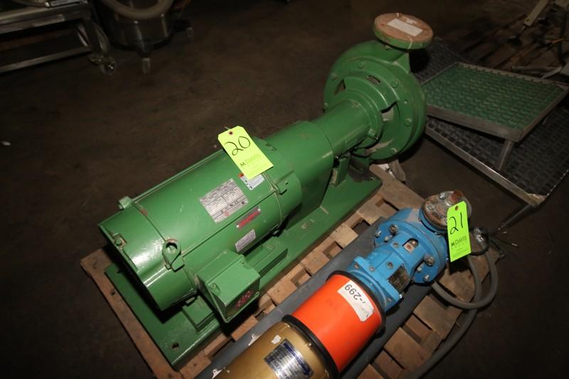 Lot 20 - Beming 20/50 hp Pump, Type AI 10-1/4, S/N DC-931713, 1770/1456 RPM, 208-230/460 Volts (LOCATED IN