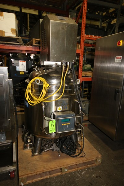 Lot 8 - Albino Aprox. 170 Gal. 316L S/S Jacketed Vessel, S/N 4301, Interior Epoxy Coated, with Dual Prop