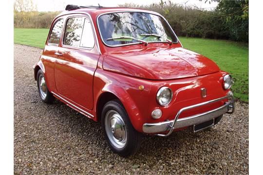 1970 Fiat 500 Lusso Presented In Rosso Corallo 1970 498 Cc Full Uk