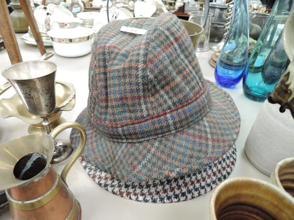Lot 42 - Two vintage mens hats Christies and Braemarl