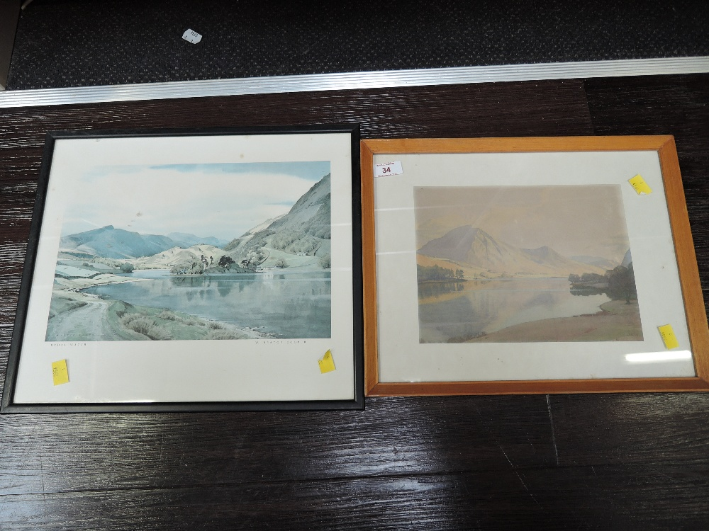 Lot 34 - Two vintage prints one after W Heaton Cooper