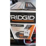 RIDGID 18V CORDLESS WET/DRY VAC (Tested, works}