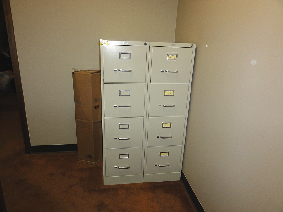 Lot 677 - 4-Drawer Filing Cabinets
