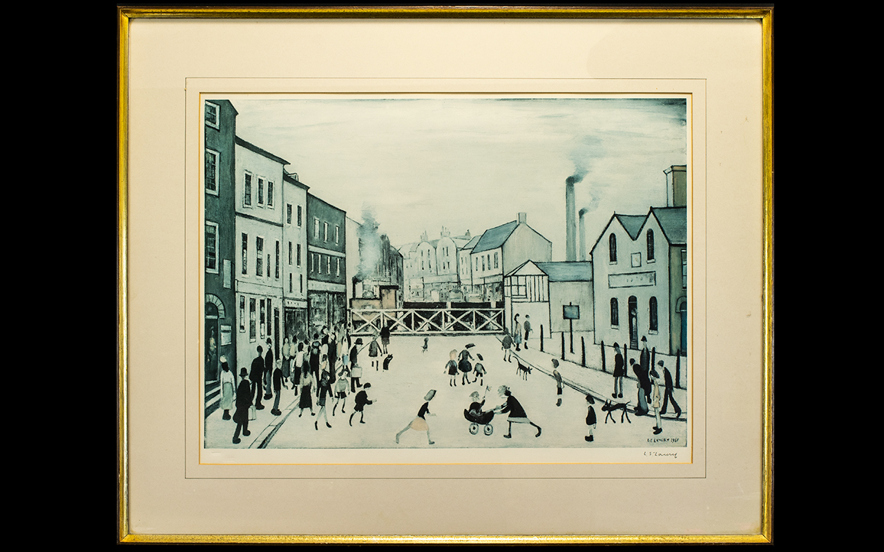 Lot 901 - Laurence Stephen Lowry (1887-1976) The L