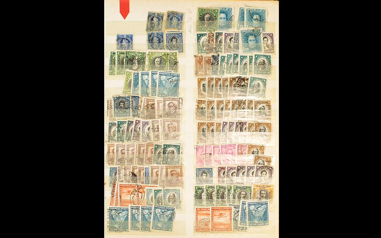 Lot 1385 - Stamp Interest - Interesting 8 page A4 s