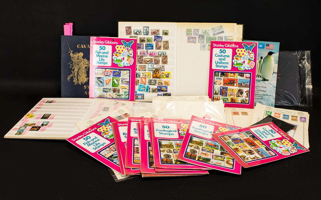 Lot 1386 - Stamp Interest Large banana box full of