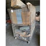 Wire crates (2) and contents