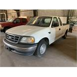 Ford F150 1999, Ext Cab Mileage unknown engine runs; needs brakes