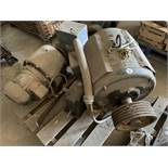 Motor, large and 2 gear boxes