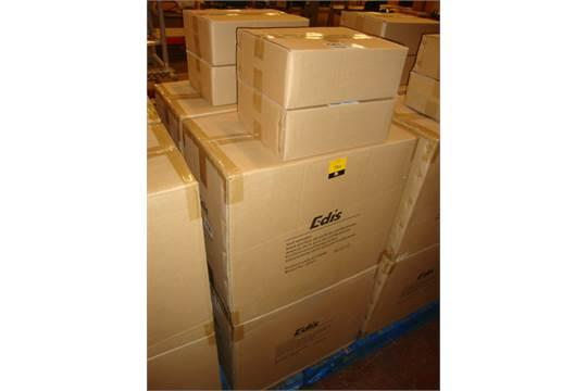 4 pairs of Edis model E525 100w hall speakers plus 4 pairs