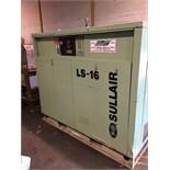 SULLAIR (LS-16) ROTATRY SCREW AIR COMPRESSOR 100HP