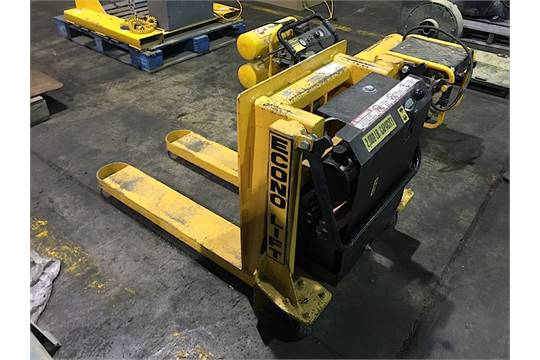 Econo Lift Electric Pallet Jack With 90 Degree Tilt Table