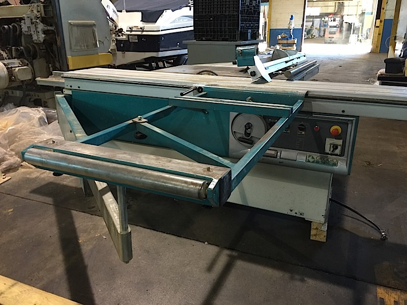 Griggio 10 39 sliding table saw for 10 sliding table saw