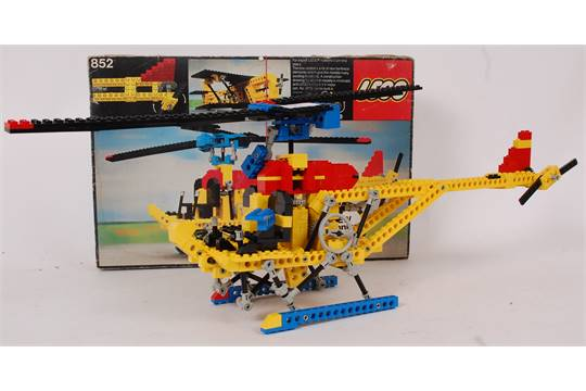 Lego An Original Early Lego Technics Set 852 Within The Original