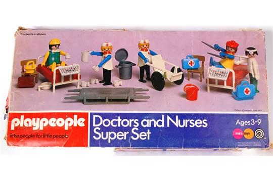 PLAYPEOPLE; An original vintage set of pre-Playmobil \' Playpeople ...