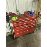 """Water Loo 45"""" x 18"""" Tool Box & Contents Incl. Asstd Pliers, Hex Wrenches, Screwdrivers & Wrenches"""