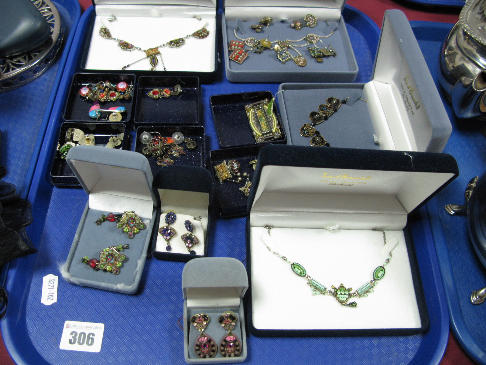 Lot 306 - Ayala Bar; A collection of decorative beaded costume jewellery, including necklaces, earrings and