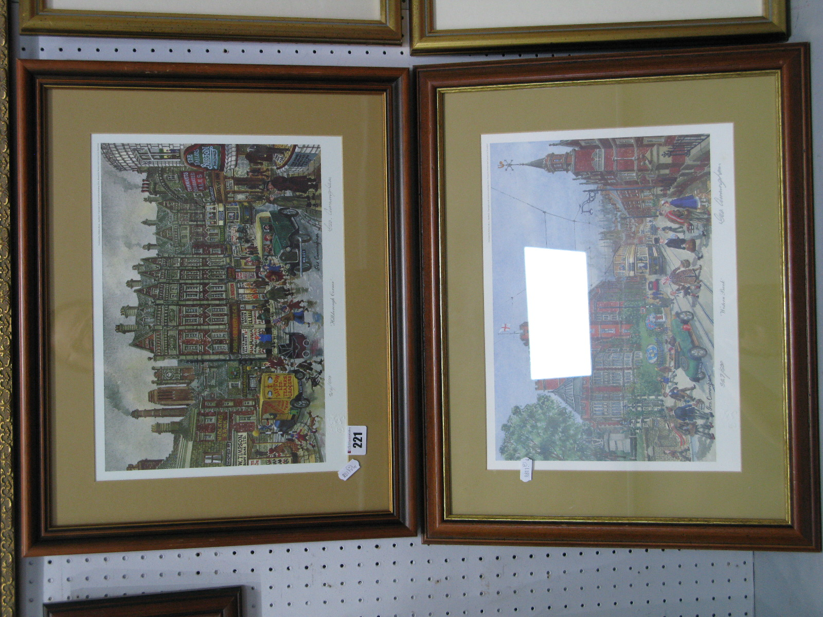 Lot 221 - George Cunningham 'Western Bank' Limited Edition Colour Print of 500, graphite signed, blind back