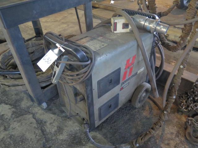 Thermal Arc Hypertherm PowerMAX 1650 Plasma Cutting Power Source w/ Koiki IK-12 MAX-3 Track Burner - Image 2 of 6