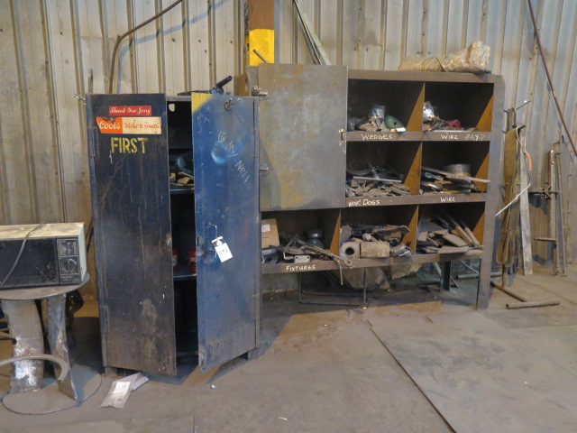 Lot 547 - Cabinets, Shelves and Misc