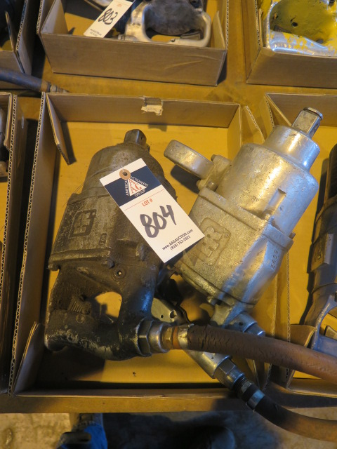 "Lot 804 - Ingersoll Rand 1"" Drive Pneumatic Impacts (2)"